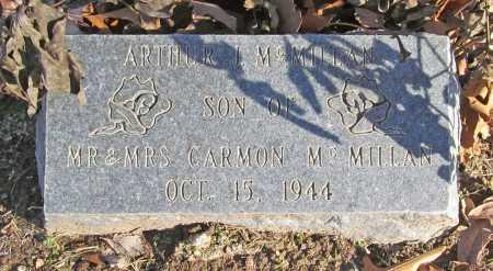MCMILLAN, ARTHUR J. - Benton County, Arkansas   ARTHUR J. MCMILLAN - Arkansas Gravestone Photos