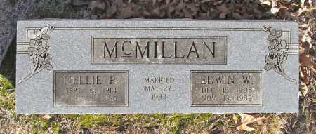 DILLOW MCMILLAN, NELLIE PEARL - Benton County, Arkansas | NELLIE PEARL DILLOW MCMILLAN - Arkansas Gravestone Photos
