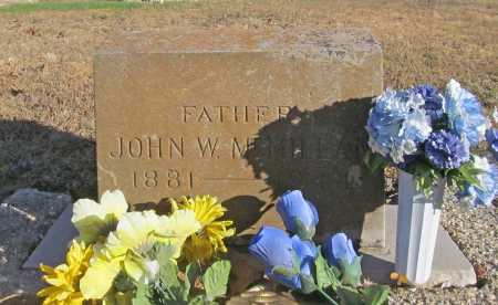 MCMILLAN, JOHN W. - Benton County, Arkansas | JOHN W. MCMILLAN - Arkansas Gravestone Photos