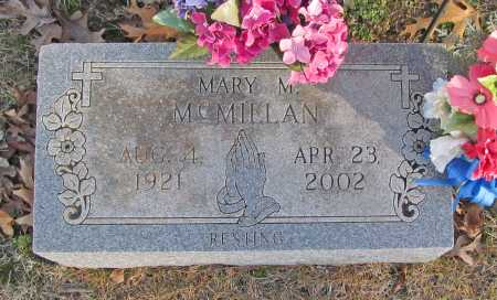 MCMILLAN, MARY MINNIE - Benton County, Arkansas | MARY MINNIE MCMILLAN - Arkansas Gravestone Photos