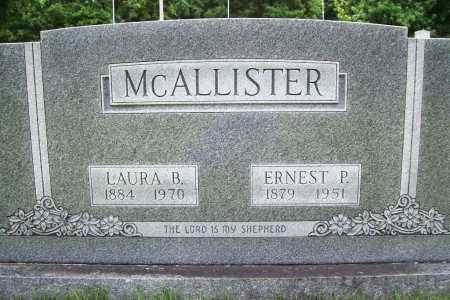 MCALLISTER, LAURA B. - Benton County, Arkansas | LAURA B. MCALLISTER - Arkansas Gravestone Photos