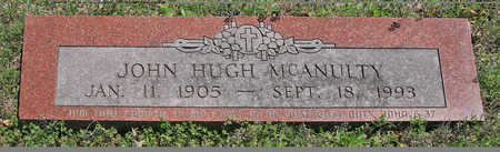MCANULTY, JOHN HUGH - Benton County, Arkansas | JOHN HUGH MCANULTY - Arkansas Gravestone Photos