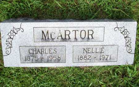 MCARTOR, NELLIE - Benton County, Arkansas | NELLIE MCARTOR - Arkansas Gravestone Photos