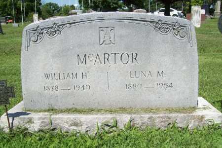 MCARTOR, LUNA M. - Benton County, Arkansas | LUNA M. MCARTOR - Arkansas Gravestone Photos