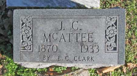 MCATEE, J. C. - Benton County, Arkansas | J. C. MCATEE - Arkansas Gravestone Photos