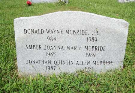 MCBRIDE, DONALD WAYNE - Benton County, Arkansas | DONALD WAYNE MCBRIDE - Arkansas Gravestone Photos