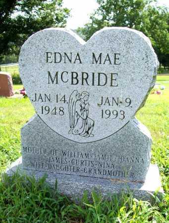 MCBRIDE, EDNA MAE - Benton County, Arkansas | EDNA MAE MCBRIDE - Arkansas Gravestone Photos