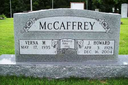 MCCAFFREY, JESSE HOWARD - Benton County, Arkansas | JESSE HOWARD MCCAFFREY - Arkansas Gravestone Photos