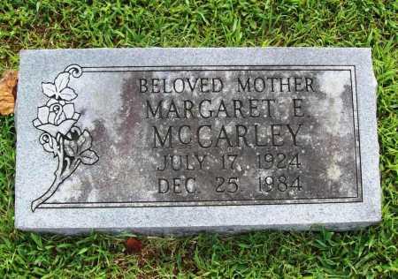 MCCARLEY, MARGARET E. - Benton County, Arkansas | MARGARET E. MCCARLEY - Arkansas Gravestone Photos