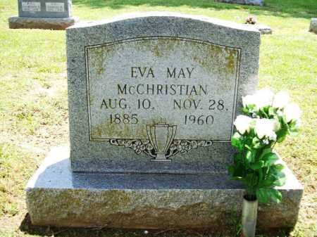 MCCHRISTIAN, EVA MAY - Benton County, Arkansas | EVA MAY MCCHRISTIAN - Arkansas Gravestone Photos