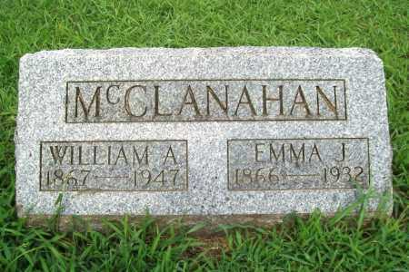 MCCLANAHAN, WILLIAM A. - Benton County, Arkansas | WILLIAM A. MCCLANAHAN - Arkansas Gravestone Photos