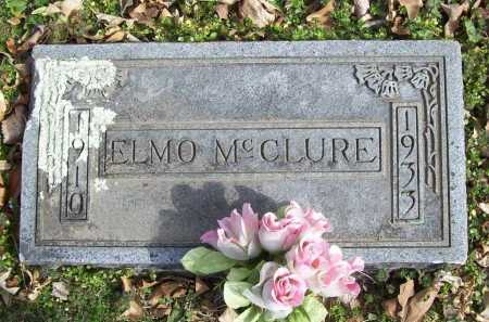 MCCLURE, ELMO - Benton County, Arkansas | ELMO MCCLURE - Arkansas Gravestone Photos