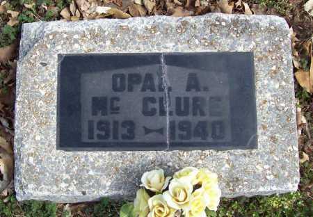 MCCLURE, OPAL. A. - Benton County, Arkansas | OPAL. A. MCCLURE - Arkansas Gravestone Photos