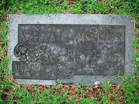 MCCLURE, STELLA C. - Benton County, Arkansas | STELLA C. MCCLURE - Arkansas Gravestone Photos