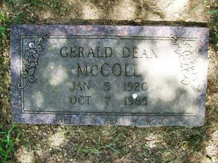 MCCOLL, GERALD DEAN - Benton County, Arkansas | GERALD DEAN MCCOLL - Arkansas Gravestone Photos