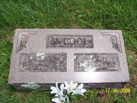 MCCOOL, JOE F. - Benton County, Arkansas | JOE F. MCCOOL - Arkansas Gravestone Photos