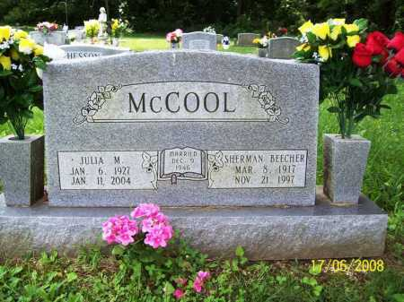LAUGHLIN MCCOOL, JULIA MAXINE - Benton County, Arkansas | JULIA MAXINE LAUGHLIN MCCOOL - Arkansas Gravestone Photos