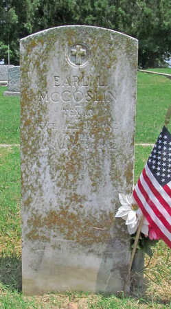 MCCOSLIN (VETERAN), EARL LEE - Benton County, Arkansas | EARL LEE MCCOSLIN (VETERAN) - Arkansas Gravestone Photos