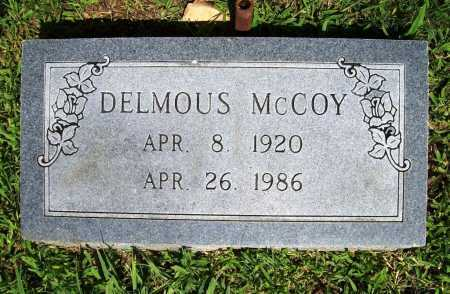 MCCOY, DELMOUS - Benton County, Arkansas | DELMOUS MCCOY - Arkansas Gravestone Photos