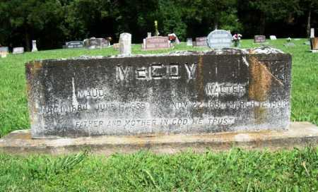 MCCOY, WALTER - Benton County, Arkansas | WALTER MCCOY - Arkansas Gravestone Photos