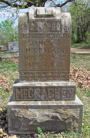 MCCRACKEN (VETERAN UNION), JAMES WASHINGTON - Benton County, Arkansas | JAMES WASHINGTON MCCRACKEN (VETERAN UNION) - Arkansas Gravestone Photos