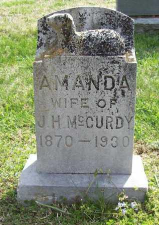 BARNES MCCURDY, AMANDA - Benton County, Arkansas | AMANDA BARNES MCCURDY - Arkansas Gravestone Photos