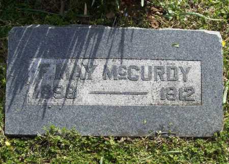 MCCURDY, FLORENCE MAY - Benton County, Arkansas | FLORENCE MAY MCCURDY - Arkansas Gravestone Photos
