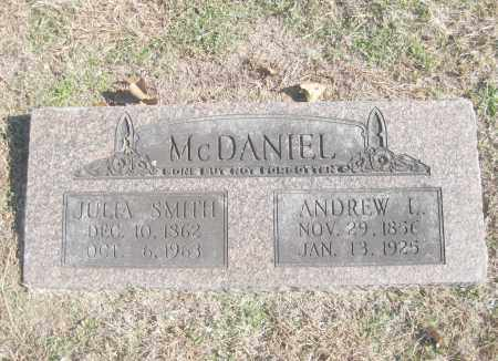 SMITH MCDANIEL, JULIA ANN - Benton County, Arkansas | JULIA ANN SMITH MCDANIEL - Arkansas Gravestone Photos