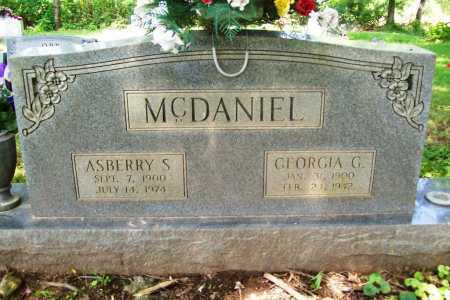 MCDANIEL, ASBERRY S. - Benton County, Arkansas | ASBERRY S. MCDANIEL - Arkansas Gravestone Photos