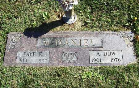 MCDANIEL, ALEXANDER DOW - Benton County, Arkansas | ALEXANDER DOW MCDANIEL - Arkansas Gravestone Photos
