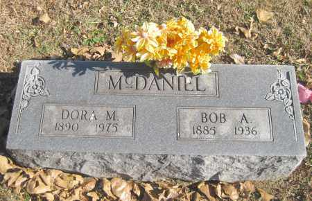 BLACKBURN MCDANIEL, DORA M. - Benton County, Arkansas | DORA M. BLACKBURN MCDANIEL - Arkansas Gravestone Photos