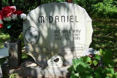 MCDANIEL, MICHAEL RAY - Benton County, Arkansas | MICHAEL RAY MCDANIEL - Arkansas Gravestone Photos