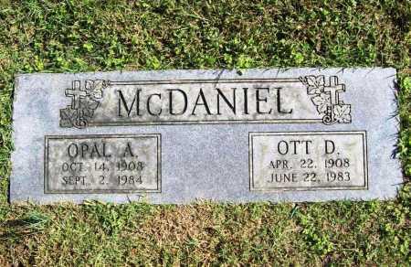 MCDANIEL, OPAL A. - Benton County, Arkansas | OPAL A. MCDANIEL - Arkansas Gravestone Photos