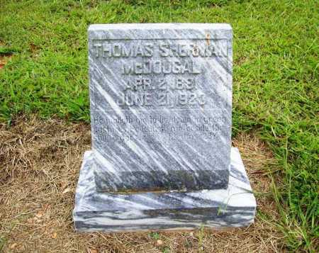 MCDOUGAL, THOMAS SHERMAN - Benton County, Arkansas | THOMAS SHERMAN MCDOUGAL - Arkansas Gravestone Photos