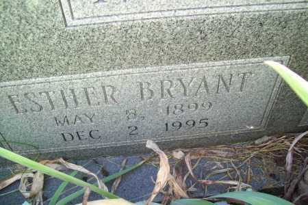 BRYANT MCFEETERS, ESTHER - Benton County, Arkansas | ESTHER BRYANT MCFEETERS - Arkansas Gravestone Photos
