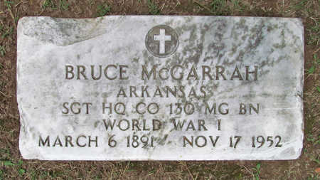 MCGARRAH (VETERAN WWI), BRUCE - Benton County, Arkansas | BRUCE MCGARRAH (VETERAN WWI) - Arkansas Gravestone Photos