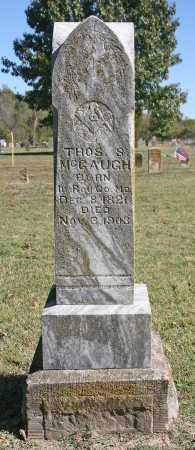 MCGAUGH, THOMAS S. - Benton County, Arkansas | THOMAS S. MCGAUGH - Arkansas Gravestone Photos