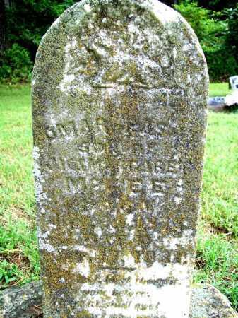 MCGEE, OMAR PASHA - Benton County, Arkansas | OMAR PASHA MCGEE - Arkansas Gravestone Photos