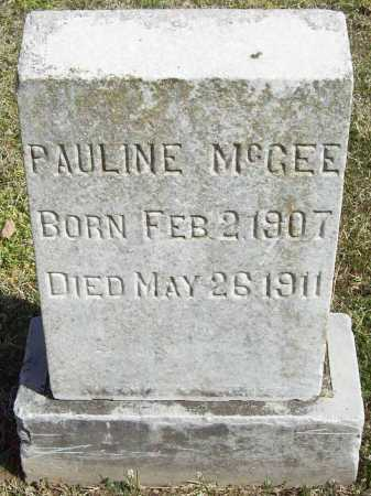 MCGEE, PAULINE - Benton County, Arkansas | PAULINE MCGEE - Arkansas Gravestone Photos