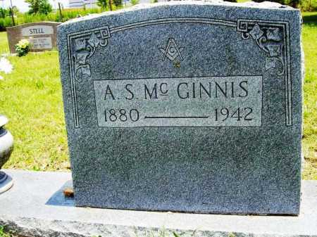 MCGINNIS, A. S. - Benton County, Arkansas | A. S. MCGINNIS - Arkansas Gravestone Photos