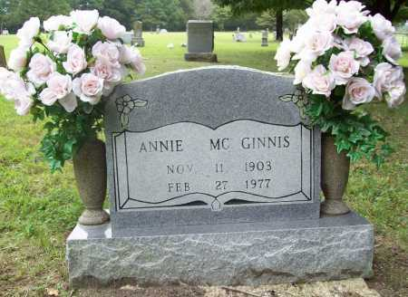 AGNEW MCGINNIS, ANNIE - Benton County, Arkansas | ANNIE AGNEW MCGINNIS - Arkansas Gravestone Photos
