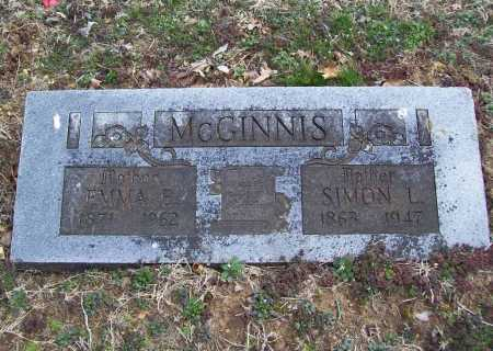 MCGINNIS, SIMON L. - Benton County, Arkansas | SIMON L. MCGINNIS - Arkansas Gravestone Photos