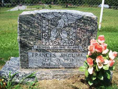 MONEYHUN MCGUIRE, FRANCES LEA - Benton County, Arkansas | FRANCES LEA MONEYHUN MCGUIRE - Arkansas Gravestone Photos