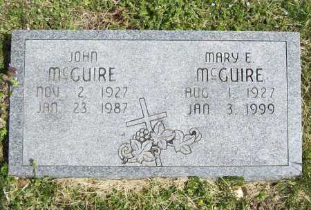 MCGUIRE, MARY E. - Benton County, Arkansas | MARY E. MCGUIRE - Arkansas Gravestone Photos