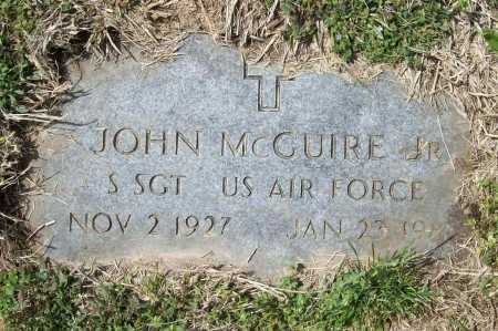 MCGUIRE (VETERAN), JOHN - Benton County, Arkansas | JOHN MCGUIRE (VETERAN) - Arkansas Gravestone Photos