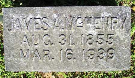MCHENRY, JAMES A. - Benton County, Arkansas | JAMES A. MCHENRY - Arkansas Gravestone Photos