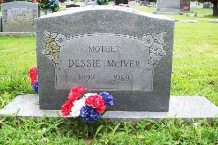 MCIVER, DESSIE - Benton County, Arkansas | DESSIE MCIVER - Arkansas Gravestone Photos