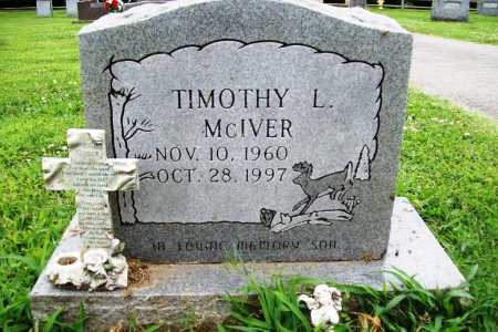 MCIVER, TIMOTHY L. - Benton County, Arkansas | TIMOTHY L. MCIVER - Arkansas Gravestone Photos