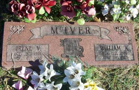 MCIVER, WILLIAM K. - Benton County, Arkansas | WILLIAM K. MCIVER - Arkansas Gravestone Photos