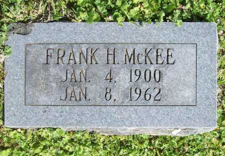 MCKEE, FRANK H. - Benton County, Arkansas | FRANK H. MCKEE - Arkansas Gravestone Photos